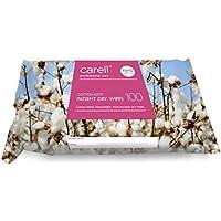 CARELL Patienten trockene Tücher–Baumwolle Weiche–100Tücher preisvergleich bei billige-tabletten.eu