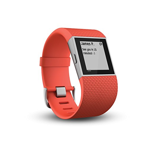 Fitbit Surge - Smartwatch, color naranja