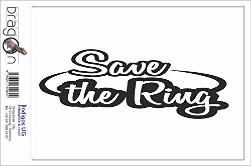 Black Dragon - T-Shirt Herren - Save The Ring - Motorsport - Rennstrecke Schwarz