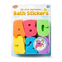 Tobar Letters and Numbers in Sponge for Bath, 29667