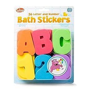 Tobar-Letras y números de Esponja para baño, 29667