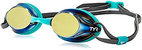 Tyr Velocity Metallized Goggle Gold/Mint/Grey