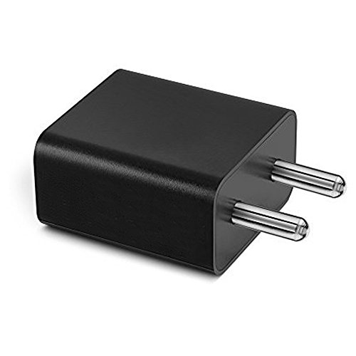 ShopsGeniune 2 Amp Mobile Charger for LG GD310 Charger Original Adapter Like Mobile Charger   Power Adapter   Wall Charger   Fast Charger   Android Smartphone Charger   Battery Charger  Hi Speed Travel Charger Without Micro USB Charging Data Cable ( 2 Ampere , Black / White )