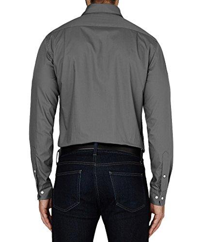 Tommy Hilfiger Shirt Big Man's Business Smart und leger (45.72 cm/132.08 cm Brust), Motiv 90 Grau - Stone (Grey)