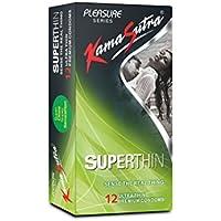Kamasutra Pleasure Serie. SuperThin Sense The Real Thing Ultra Dünn Premium Kondome 12'S Pack preisvergleich bei billige-tabletten.eu
