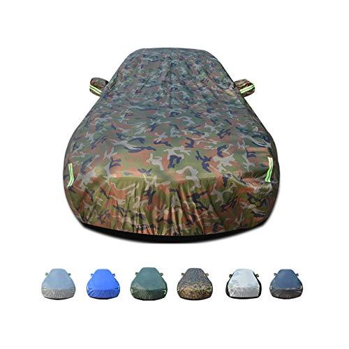 JIANPING-Car-Abdeckung Regenschutz, Winddicht, staubdicht, UV-beständig, Nicht brennbar, Oxford-Stoffbezug, für den Einsatz innerhalb und außerhalb von Hummer H3 (Color : B) (Reifen Cover Hummer Jeep)