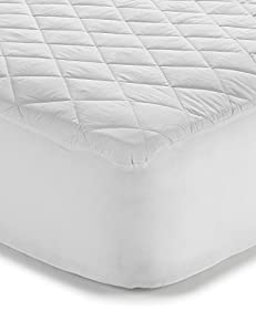 Premier Linens Polycotton Quilted ,Anti Allergy, Extra Deep(33cm/13 inch) Mattress Protector Single Super King (180cmx200cm) from Premier Linens