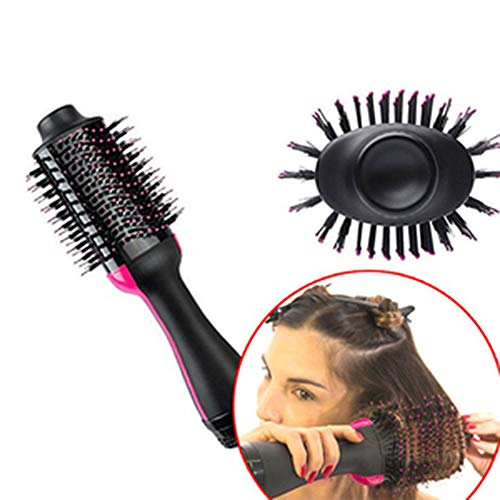 YA Blow Electric Hair Dryer Brush Multi Function Hot Air Brush Hair Curling Iron rotierende Fairdryer Fairdryer Homeuse Styling-Tools (Hot Tools Hot Air Brush)