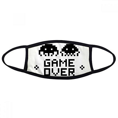DIYthinker Game Over Little Monster Pixel Face Anti-Staubmaske Anti Kälte Maske Geschenk - S Monster-spiel