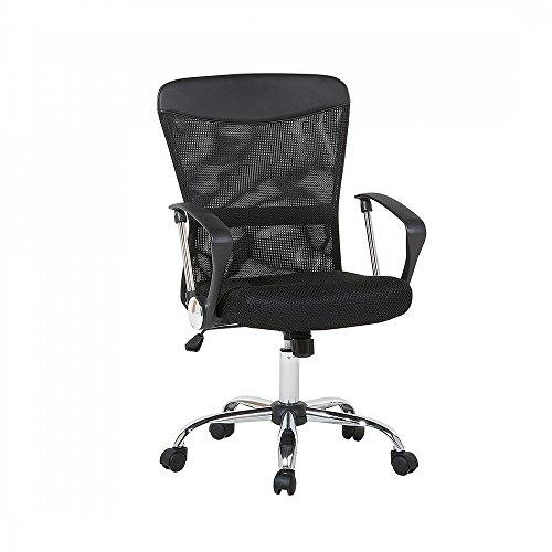 Silla de oficina - Negro - Giratoria -