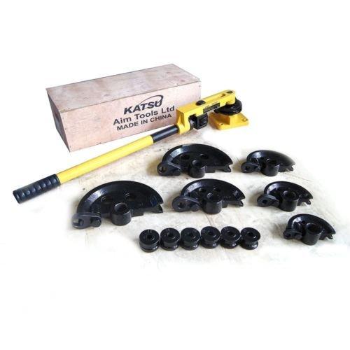 Katsu 371267Rohrbiege MAschine Rohrbiege-Zange Manuelle Werkzeug mit stirbt 10–25mm