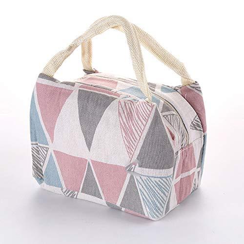 Lunch Bag Isolierte Einkaufstasche Lunch Organizer Auslaufsicherer Lunch Holder Lunch Container für Damen Herren Work Pinic oder Travel(Big)