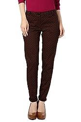 Allen Solly Women Ultra Slim Fit Pants_AWTF514R00705_ 30