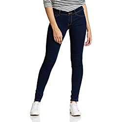 Jealous 21 Women's Slim Jeans (1JY2087126_Blue_26)