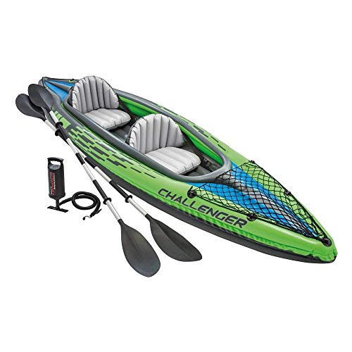 Intex 68306NP - Kayak hinchable Challenger