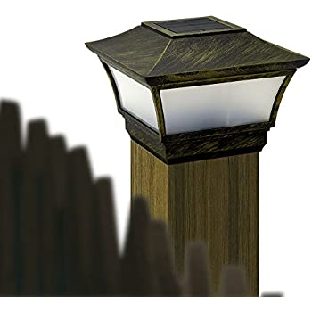 Solar Fence Post Lights Uk