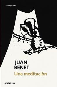 Una meditación par Juan Benet