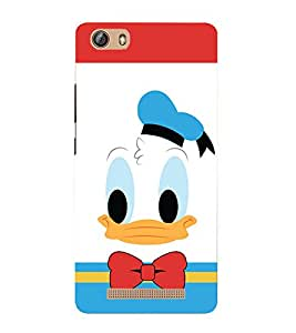A2ZXSERIES Disneyy Donald Duck Back Case Cover for Gionee m5 Lite