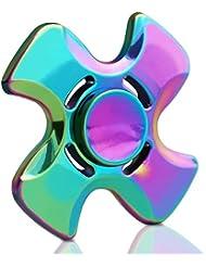 DELICACY Métal Fidget Spinner EDC Focus Fidget Réducteur de stress de Jouet High Speed Soulage Anxiété et Ennui Pour Enfants et Adultes …