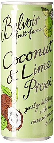 Belvoir Canette Coconut & Lime 250 ml - Lot de 6