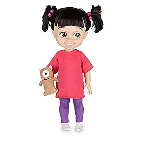 Offizielle Disney Monsters Inc 41cm Boo Animator Kleinkind -Puppe mit Mickey Teddy