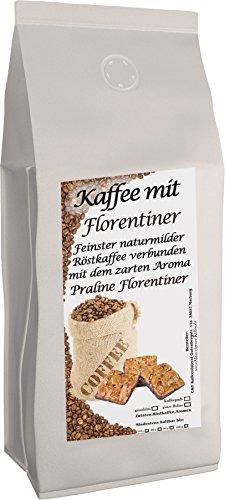 C&T Aromakaffee - Aromatisierter Kaffee Gemahlen - Florentiner 500 g - Privatrösterei Spitzenkaffee Flavoured Coffee (Kaffee Florentiner)