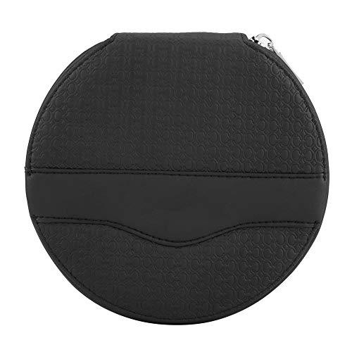 Schwarz Brieftasche Tasche (KIMISS Auto Universal 24 Kapazität CD CD VCD DVD Aufbewahrungskoffer Mini Tasche Brieftasche(Schwarz))
