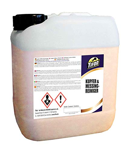 Kupferreiniger/Messingreiniger (5000 ml) - Metall reinigen, Politur, Tauchbad