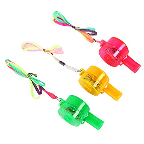 Blinken Whistle LED leuchten Fun In The Dark Party-Rave und Konzert (zufällige Farbe) ()
