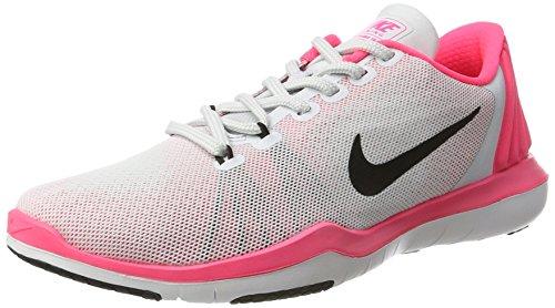 Nike Wmns Flex Supreme Tr 5, Scarpe da Ginnastica Donna Multicolore (Pure Platinum/Black/Racer Pink/Wolf Grey)