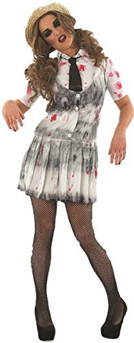 Dead zombie halloween pour cadavres school girl costume + taille xl