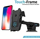 #4: Able Long Neck One Touch Mount Holder for All Smartphones(3rd Generation, Black)