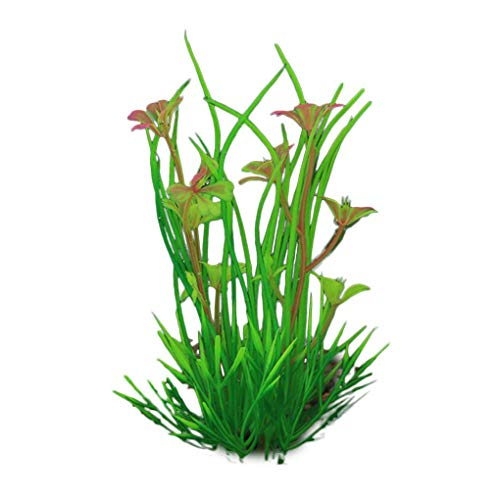 Alert Aquarium Fish Tank Decor Artificial Water Grass Sink Wood Simulation Plants 5pcs Complete Range Of Articles Fish & Aquariums