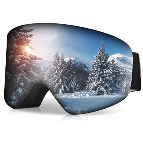RUNACC Gafas Esquí Hombre Mujer Gafas Snowboard Anti-Niebla