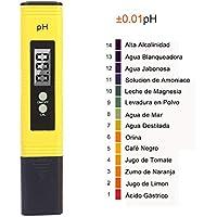PH Tester Meter Digital, GOCHANGE Prueba Digital Multi Function PH / Prueba PH portátil / Hidropónica para Acuario Piscina, etc.
