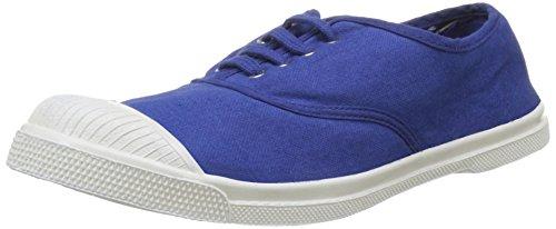 Bensimon Tennis Lacet, Baskets Basses Femme Bleu (Bleu Vif)