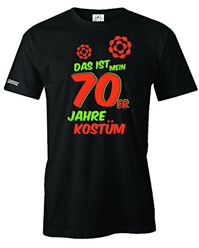Jayess DAS IST Mein 70er Jahre KOSTÜM - Herren - T-Shirt in Schwarz by Gr. ()