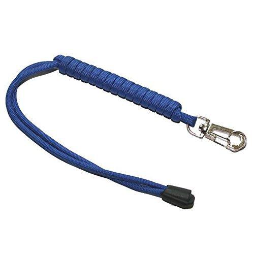 waygo Wollüberzug aus Paracord Seil 7Kerne Taschenlampe Messer Schlüsselanhänger lanyard- blau