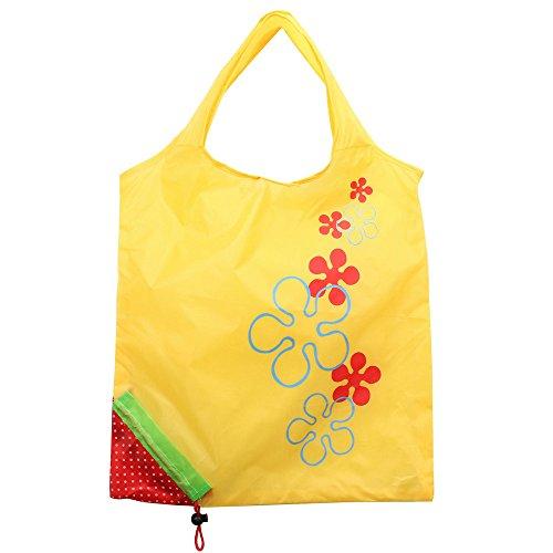 Janly Lagerung Tasche,Niedliche Faltbare Mode Eco Handtaschen Wiederverwendbare Taschen Erdbeereinkaufs Taschen Home Storage Organizer (E) - Küche Storage-lösungen
