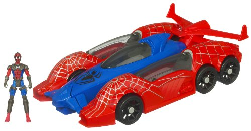 Spider-Man - 268661480 - Véhicule Miniature - Véhicule 5 en 1