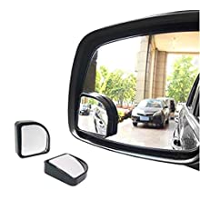 Hypersonic Blind Side Mirror Car Adjustable Blind Spot Mirror Small