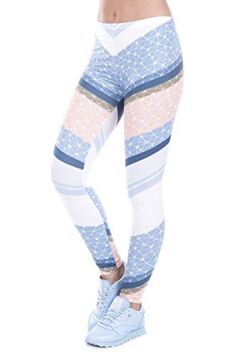 trvppy–Plus de 30Différents modèles–Gym Workout Sports Wear Yoga Pantalon Legging de sport Fitness Fashion Print Hipster TRIANGLE MANDALA