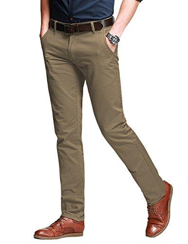 Match Herren Slim Casual Hose #8050(8050 Licht khaki#10,30)