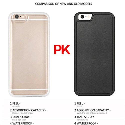 Magique Anti-gravité Coque Housse Etui de Protection Collant Couverture Case Pour iPhone 7 / 7 Plus - 7-Clair 7-Clair