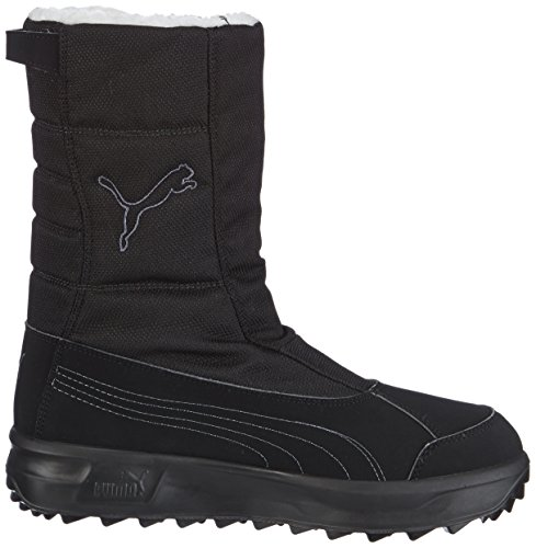 Puma Acima Gtx® Jr, Bottes de neige mixte enfant Noir (Black-Turbulence-Aged Silver 08)