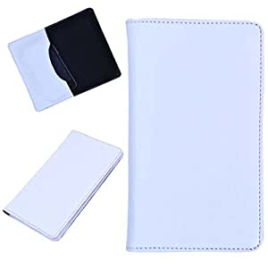 DCR Pu Leather case cover for Asus Zenfone selfie ZD551KL (white)