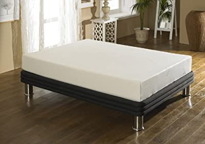 Happy Beds Firm Stress Free Memory Foam 8000 Orthopaedic Mattress Removable Zip Cover - inexpensive UK light shop.
