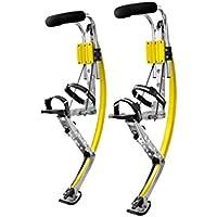 Scarpe da Adulto Kangaroo Jumping Trampoli Fitness (200–242lbs/90~ 110kg Scarpe) (giallo)