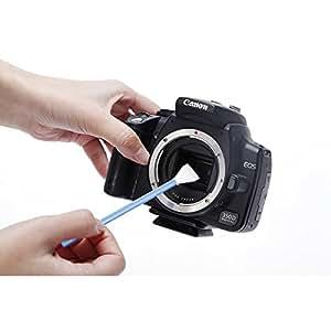 VSGO Kit de Nettoyage Professionnel Air Blower Cleaner + 3x APS-C Cadre Swab Nettoyage Sensor + 5x Caméra Chiffon de Nettoyage + Lens Cleaner + Ecran de La Caméra Cleaner + Housse pour DSLR Canon Nikon Pentax Sony DC515