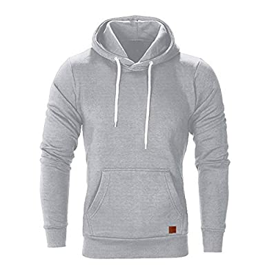 BaZhaHei Men's Long Sleeve Hoodies Autumn Winter Casual Sweatshirt Fashion Hoodies Top Men Blouse Tracksuits Sports Shirt Mens Hooded Tops Fashion Outfits